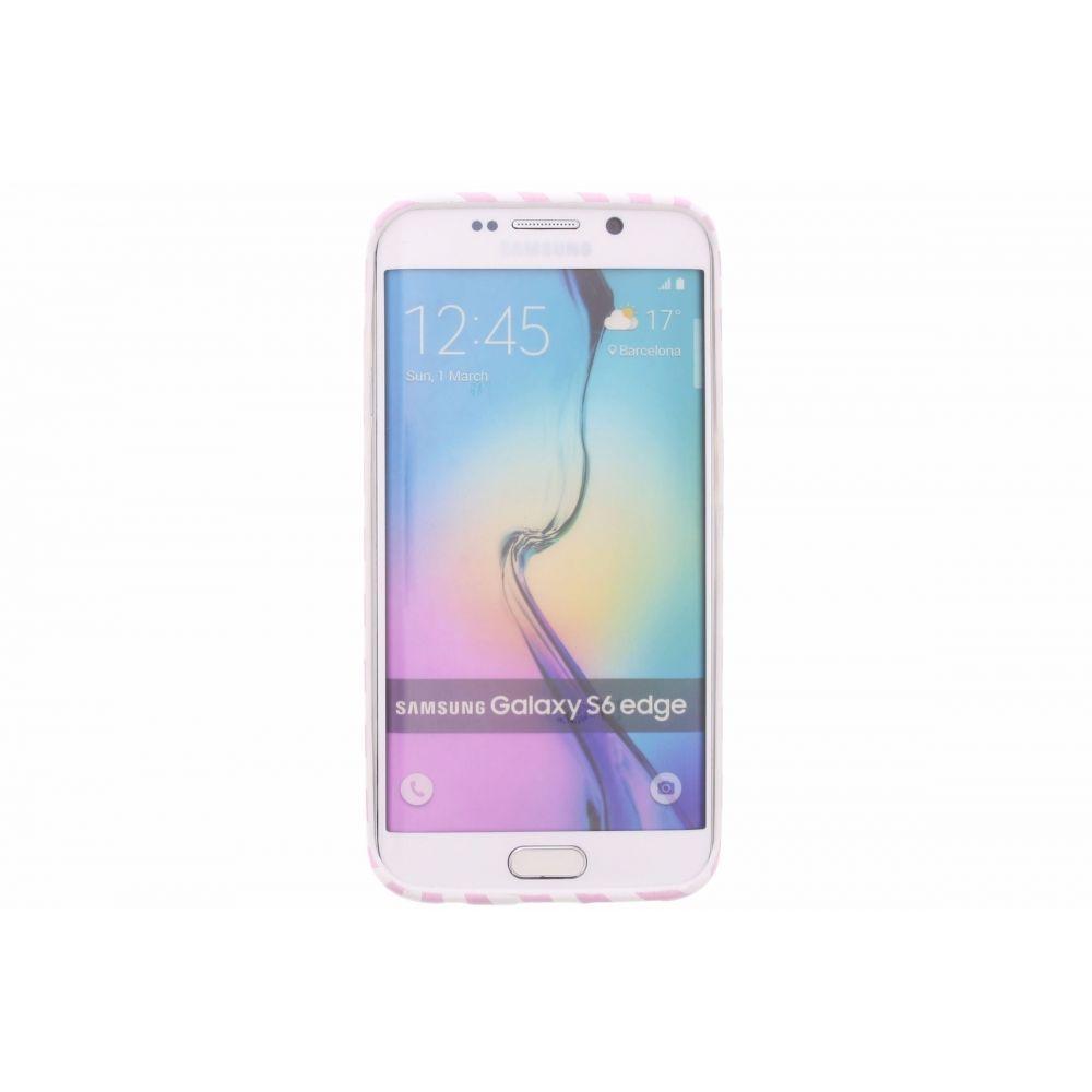 Blond-Amsterdam Samsung Galaxy S6 edge telefoonhoesje I love my life