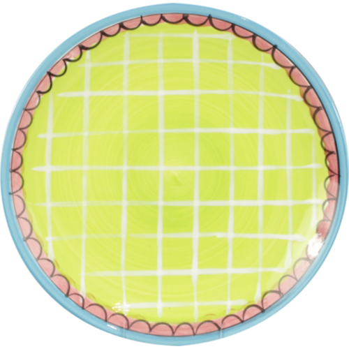 Cake plate ø18cm Green Ruit Small Talk
