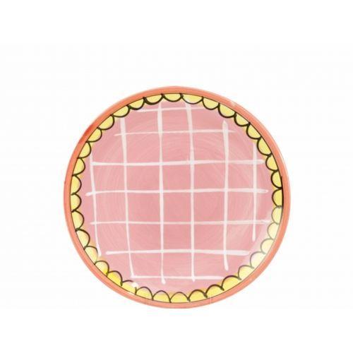 Gebaksbord ø18cm Roze