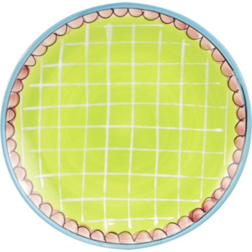 Breakfast plate ø22cm Green Small Talk