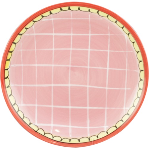 Breakfast Plate ø22cm Pink Small Talk