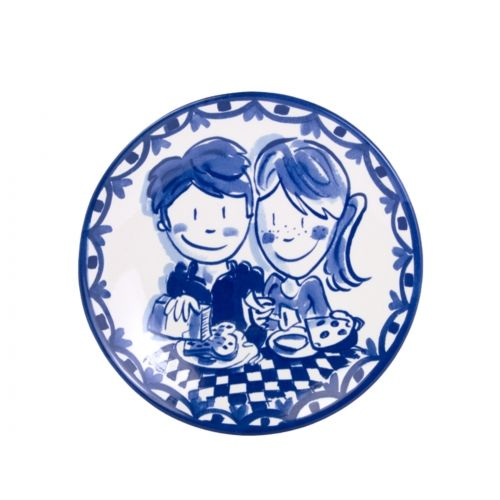 Breakfast Plate ø22cm Boy/Girl