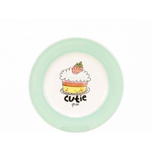 Dessert plate ø18cm Green