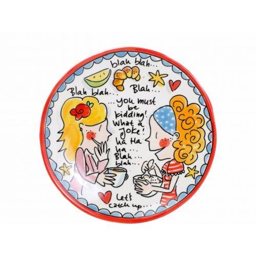 Breakfast plate ø22cm Kidding Small Talk