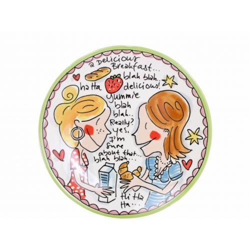 Breakfast plate ø22cm Delicious Small Talk