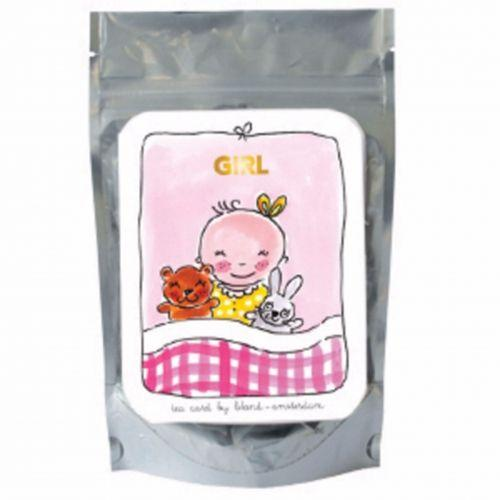 Girl pink - green tea lemon and ginseng