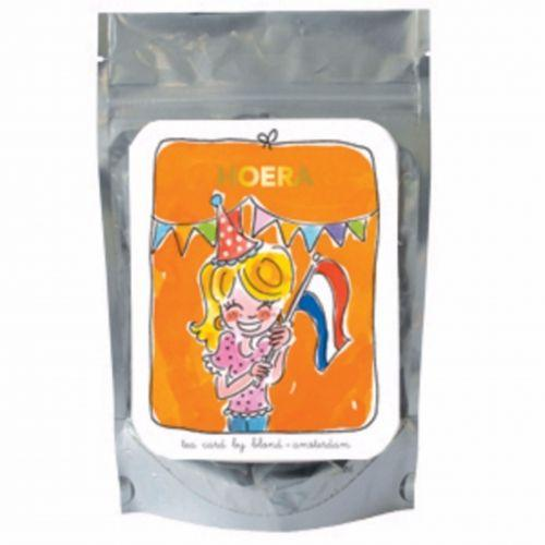 Hoera orange - green tea lemon and ginseng