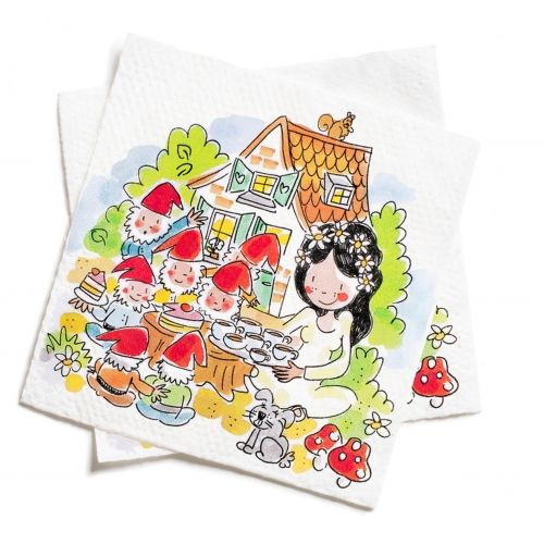 Set of 20 Napkins Fairytale Forest