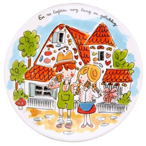 Breakfast plate Hansel and Gretel