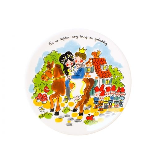 Breakfast plate Snow White