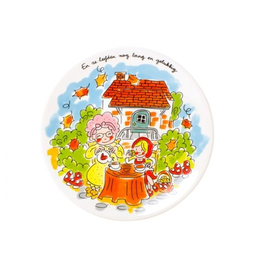 Breakfast plate Little Red Riding Hood