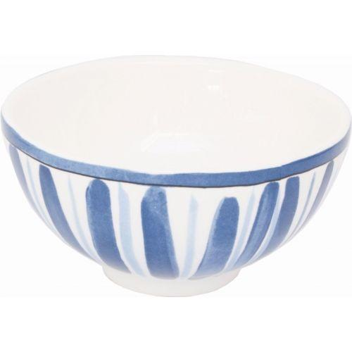 Bowl stripe/flower