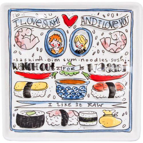 Bord ø18cm Sushi
