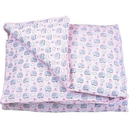 Duvet cover Pink elephant