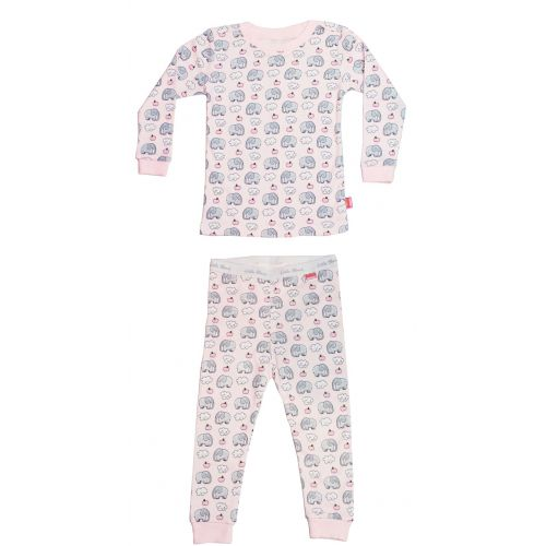 Two-piece pajamas Pink Elephant