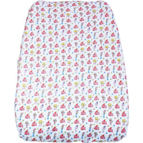 Fitted changing pad cover Let's go to the circus