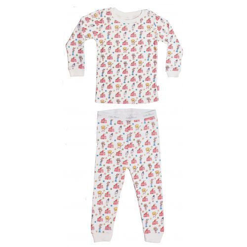 Two-piece pajamas Let's go to the circus