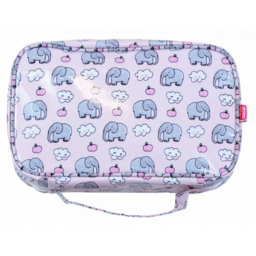 Essentials bag (S) Pink elephant