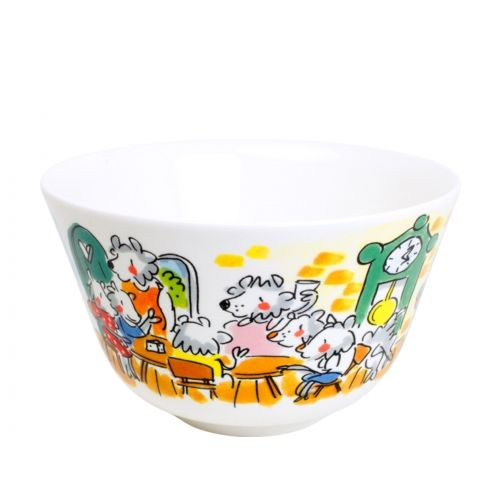 Bowl ø14cm The Wolf and the Seven Kids