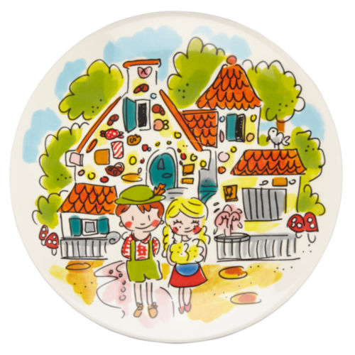 Cake Plate ø18cm Hansel and Gretel