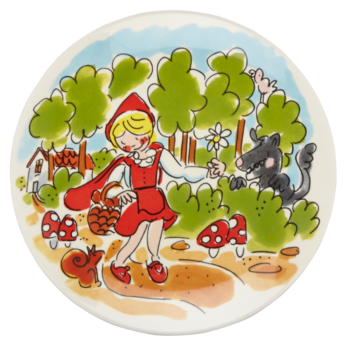 Cake plate ø18cm Little Red Riding Hood