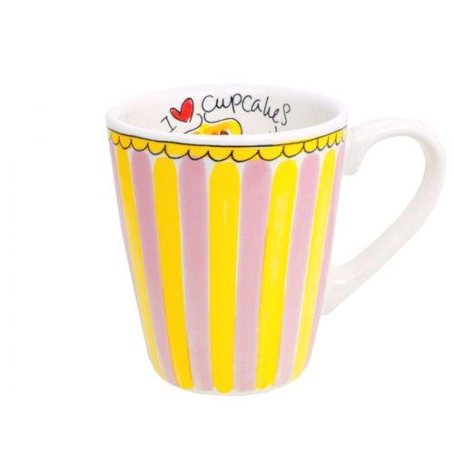 Mug cupcake stripe