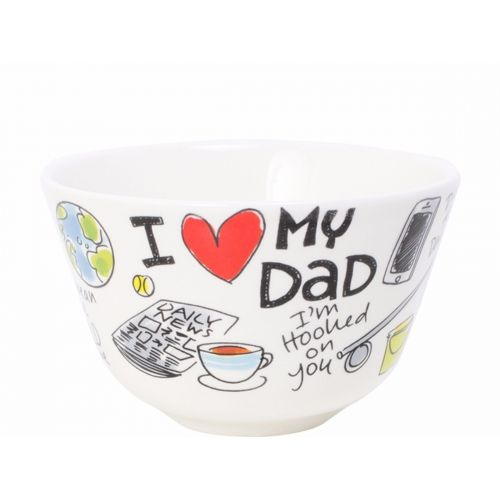 Bowl ø14cm I Love Dad