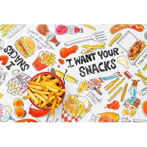 Tafelzeil Snack 140 x 250 cm