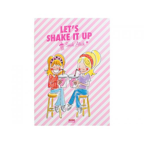 Exercise book Shake it up square