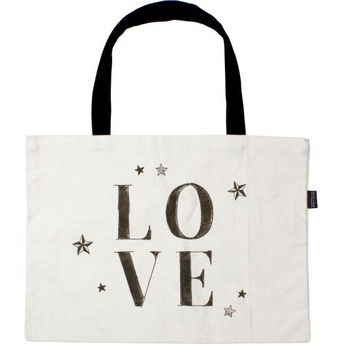 Canvas tas Love