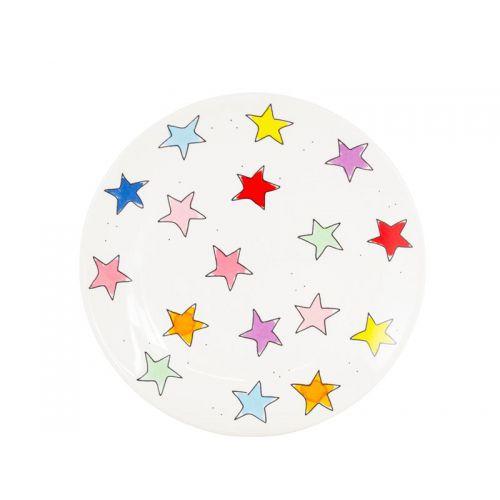 Breakfast Plate ø22cm Star