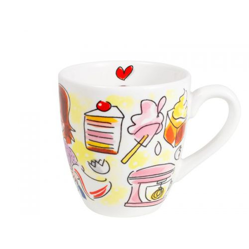 Mini Mug Yellow - To Bake 0,2L