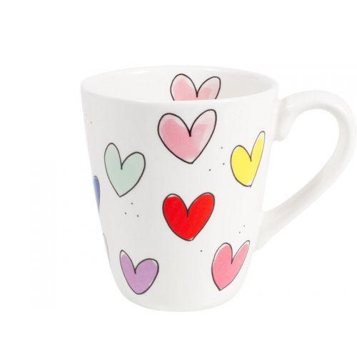 Mug Hearts 0.35L