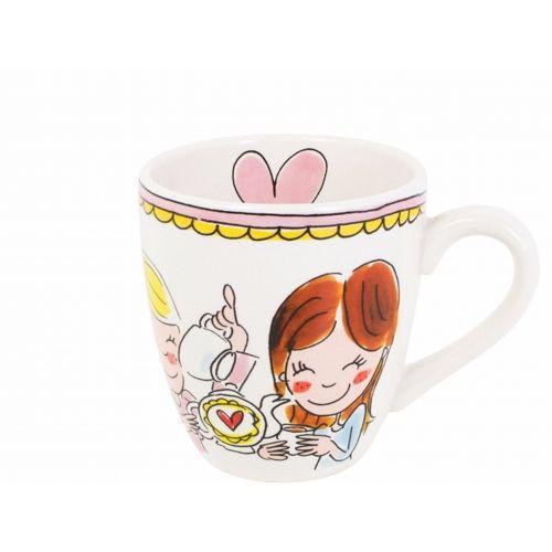 Mini Mug Pink Rim 0,2L