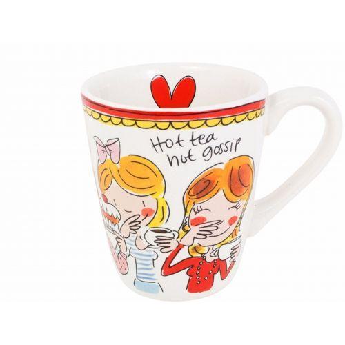 Mug Red Rim 0,35L