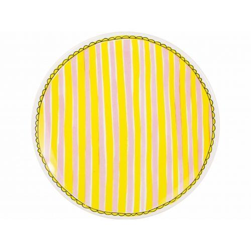 Dinner plate 26 cm stripe