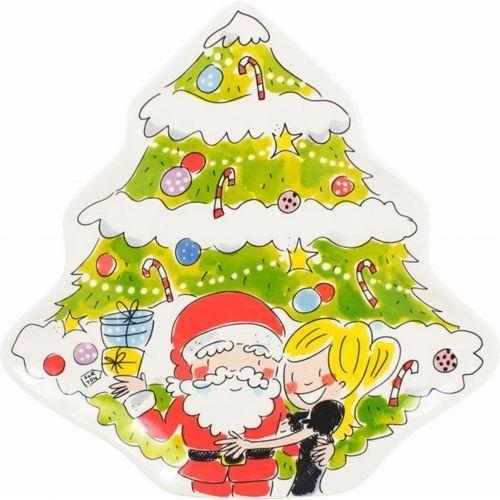 Bord Kerstboom Santa