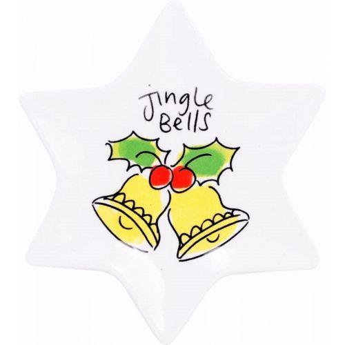 Kerstschaaltje ø12cm Jingle Bells