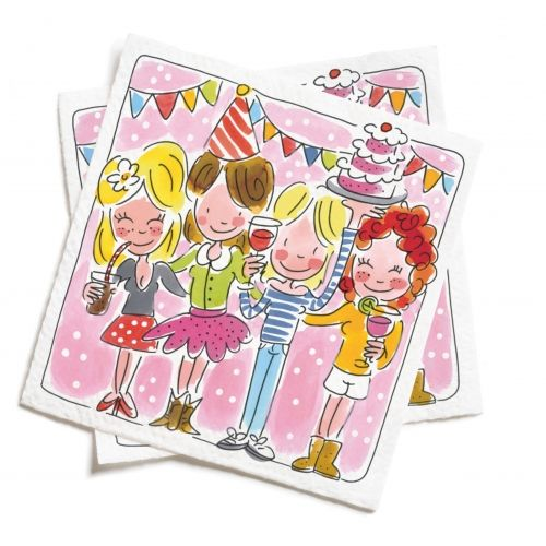 Set of 20 napkins 'Party'