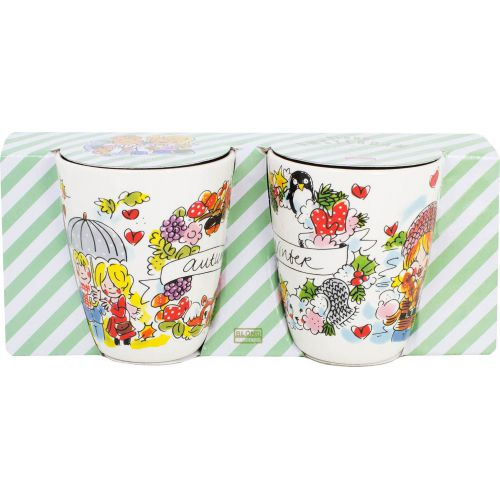 Set of 2 Mugs Autumn & Winter 0,35L