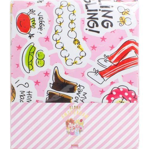 Verpakt tafelzeil Pink happiness 140 x 240 cm