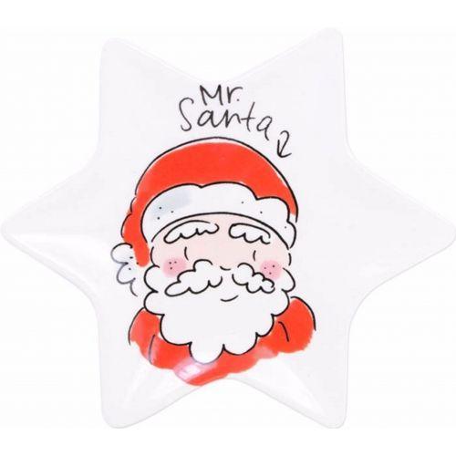 Kerstschaaltje ø12cm Santa
