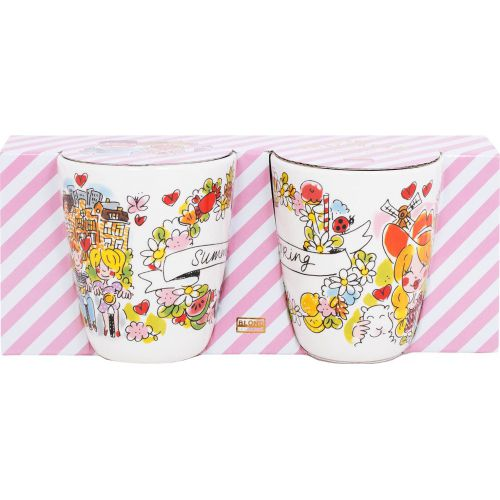 Set of 2 Mugs Spring & Summer 0,35L