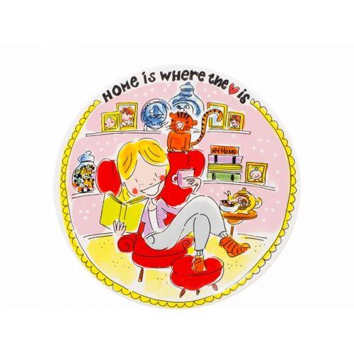 Ontbijtbord ø22cm Home girl