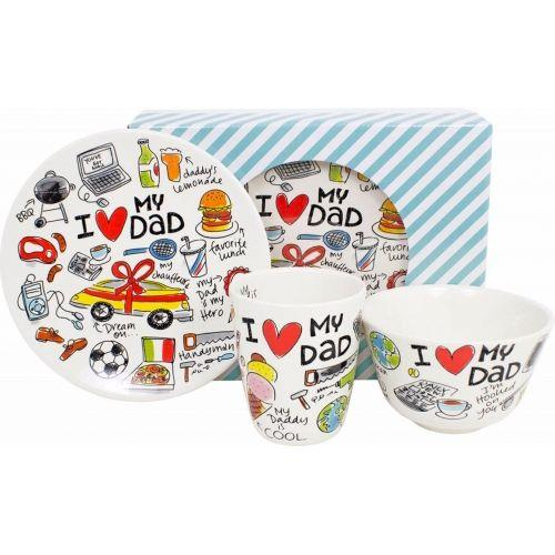 Set I love dad 3-piece