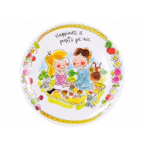 Melamine plate Love