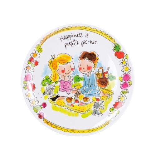 Melamine Plate ø22cm Love