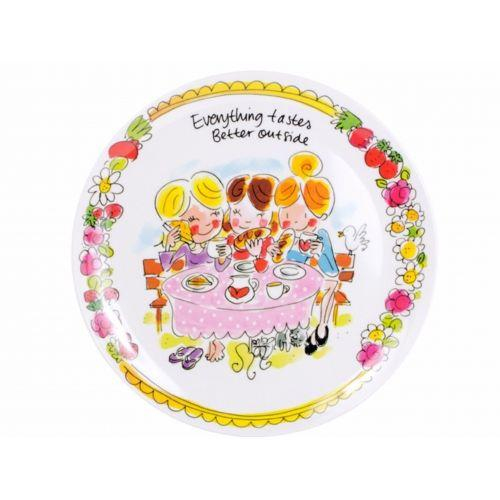 Melamine plate Friends