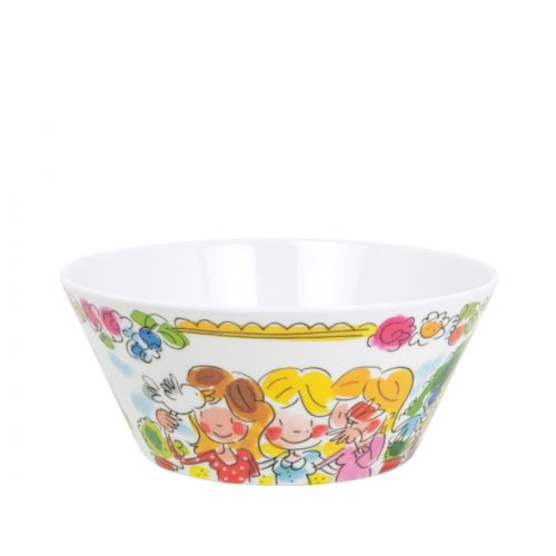 Melamine Bowl ø14cm Friends
