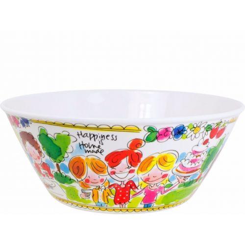 Melamine Bowl ø25cm Blah Blah Blah